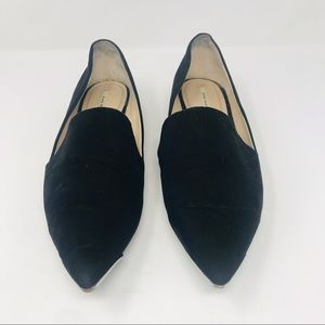 Zara Pointed Toe Flat Loafer
